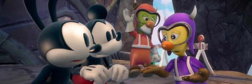 SNIKTITT: Epic Mickey 2: The Power of Two