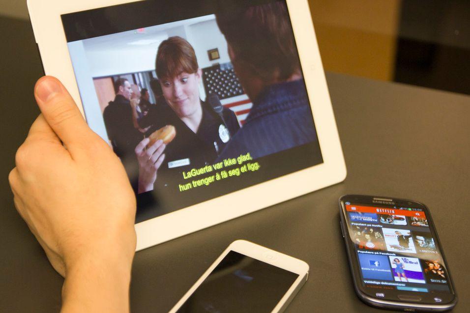 – Nei, Netflix vil ikke få offline-avspilling