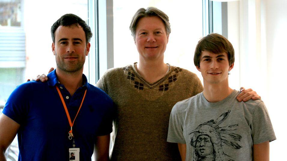 Stay.com (fv.): Joachim Paasche, Glenn Stenholm og Asgeir Hoem.