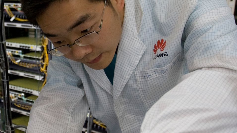 Huawei på full fart oppover