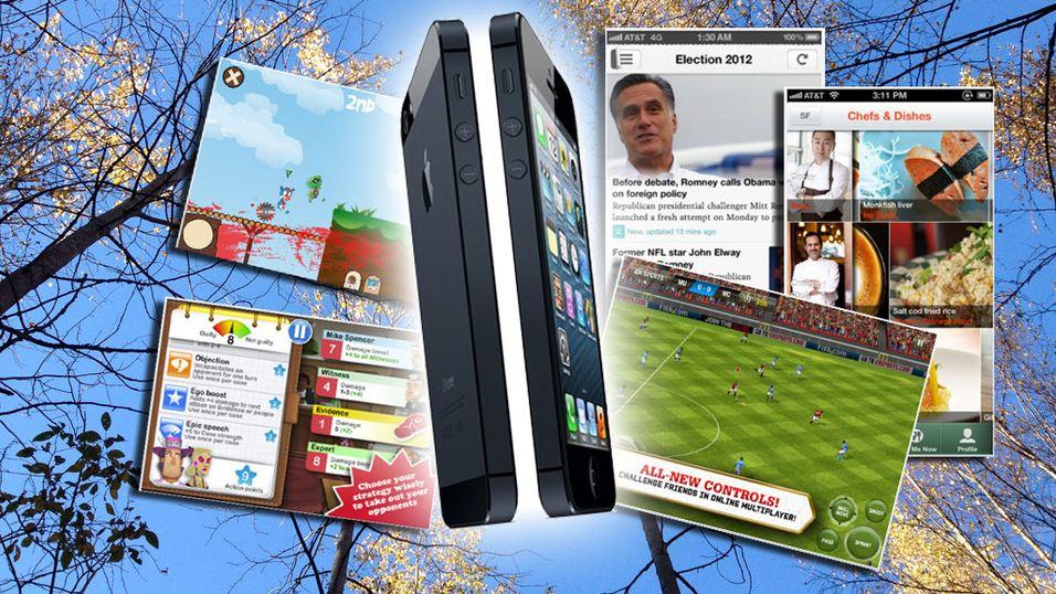 Her finner du massevis av nye iPhone-apper
