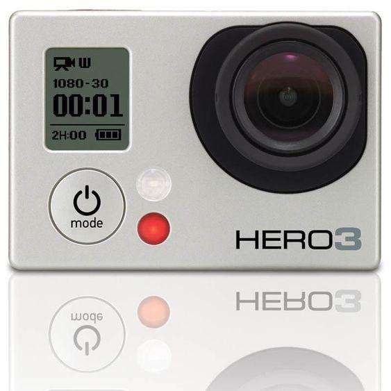GoPro HD Hero 3 Silver.