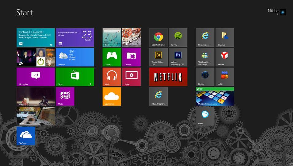 Nå er Windows 8 for første gang større enn Linux