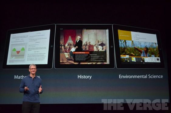 Cook snakker om iPad som undervisningsplattform.