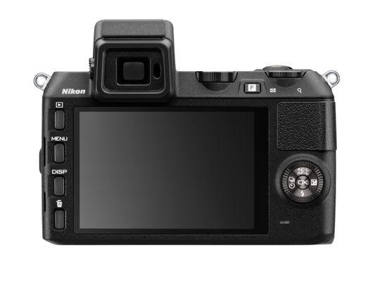 Baksiden av Nikon 1 V2.