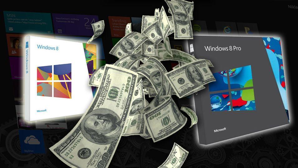 Heldigvis er det ikke så mange Windows 8-alternativer å velge imellom.
