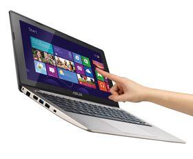 Asus VivoBook S200, under gode reklamebildelysforhold.
