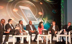 Fra paneldebatten på NFC & Mobile Money Summit i Milano.