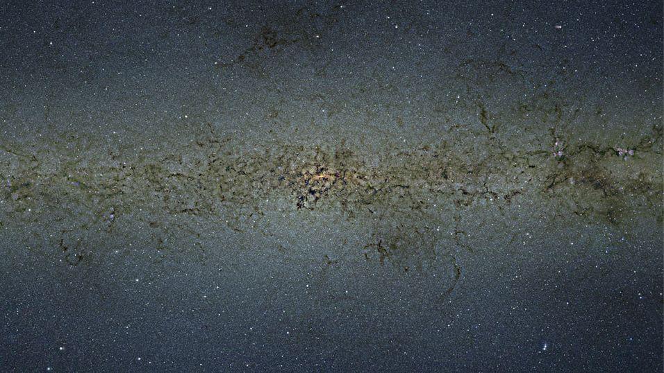 Det høyoppløste bildet viser hjertet av vår galakse.