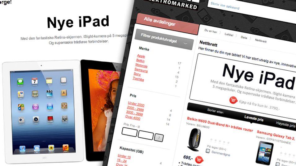 Lefdal solgte gammel iPad-modell som ny