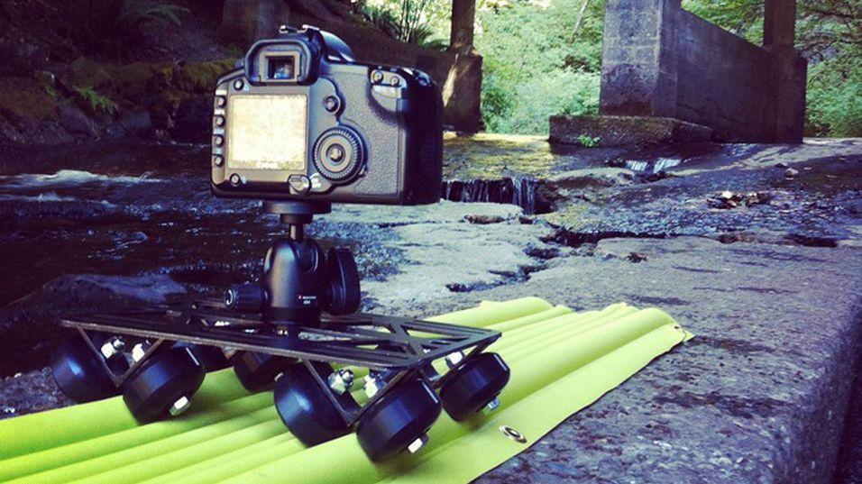 Blås opp din egen kameraskinne