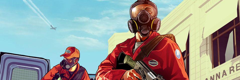 Grand Theft Auto V kjem til våren