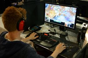 GLEiki vant StarCraft II-turneringen (Foto: Gøran Solbakken/Gamer's Paradise).