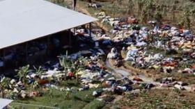 SELVMORD: Leder Jim Jones fikk 913 mennesker til å begå selvmord da presset ble for stort.