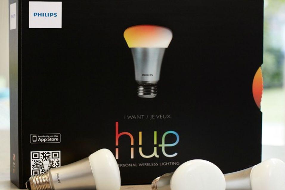 Her er Philips' mobilstyrte lyspærer