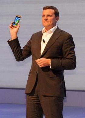 Samsung var den første av de tre Windows Phone-produsentene til å lansere et produkt. Ativ S ble vist frem før IFA-messen i Berlin tidligere i år.
