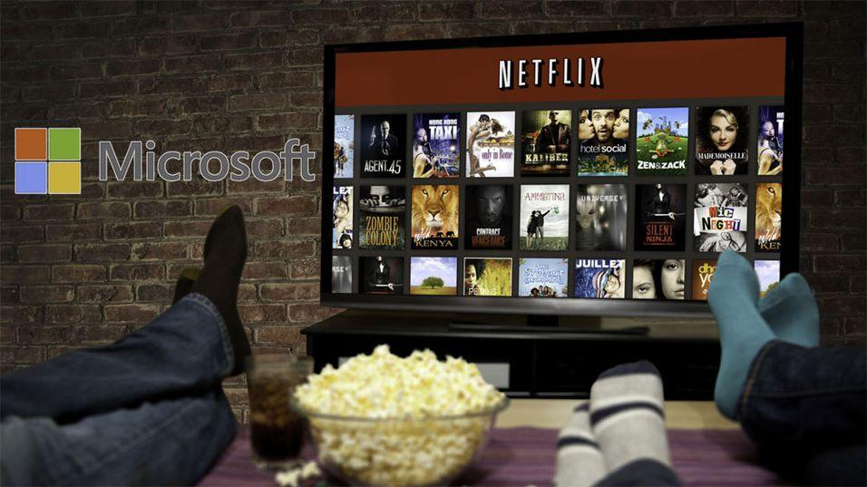 Ifølge rykter vil Microsoft kjøpe Netflix.