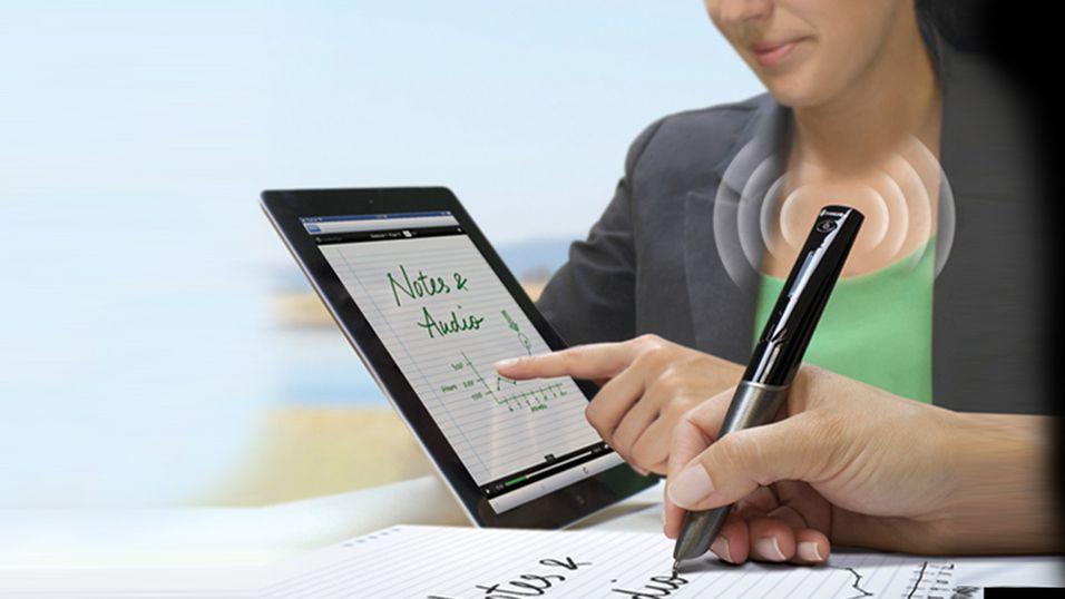 Sky Wi-Fi smartpen tar opp det du skribler ned og sender det til PC-en, nettbrettet eller smarttelefonen din.
