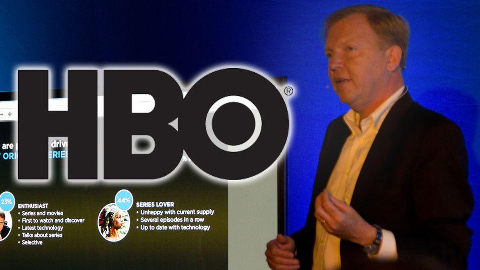 HBO Nordic-sjef, Hervé Payan, ser ikke noe problem i at de krever 12 måneders bindingstid.