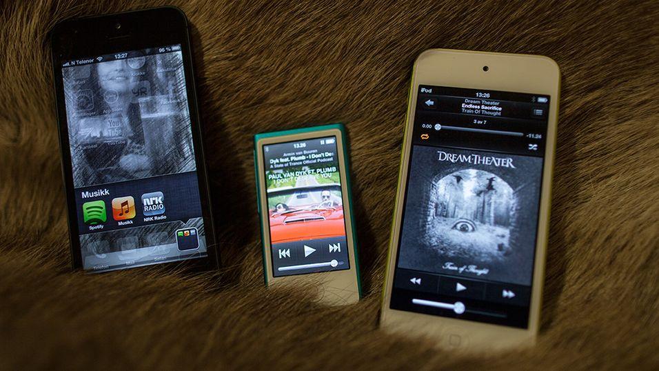Slik er de nye iPodene