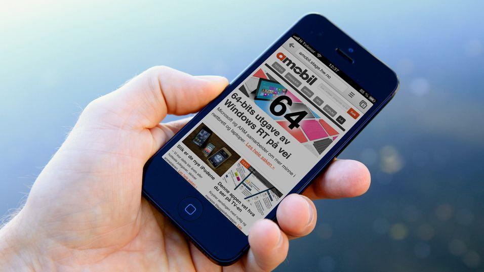 Amobil har fått nye mobilsider