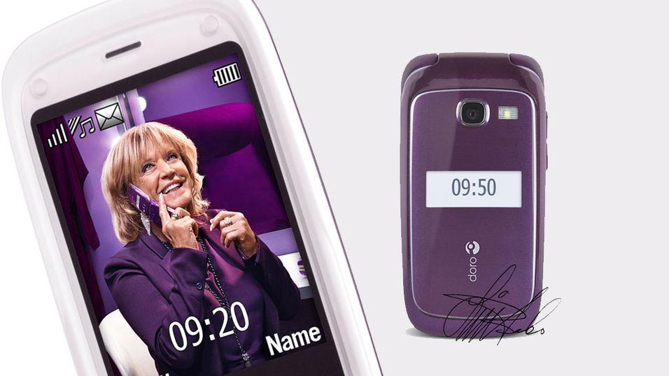 Lill-Babs blir mobil-modell