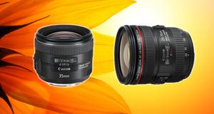 Nye fullformatobjektiver fra Canon