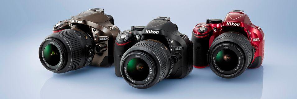 Nikon lanserer nytt speilrefleks-kamera