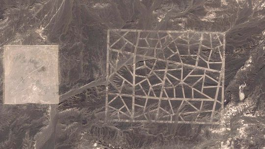 MYSTERIUM: Mønstrene satte i gang en rekke konspirasjonsteorier. En av de mest populære var at mønsteret var en beskjed til utenomjordiske vesener.