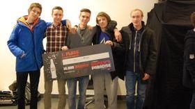 GamersLeague (Fra venstre: Preben «PREBZZ» Bertheussen, Fredrik «Viking Fred» Gusland, Lars Kristian «Larskey» Sormbråten, Simon «Slemp» Ellefsen, Fredrik «BegMe4Mercy» Lingås.) (Foto: Audun Rodem).