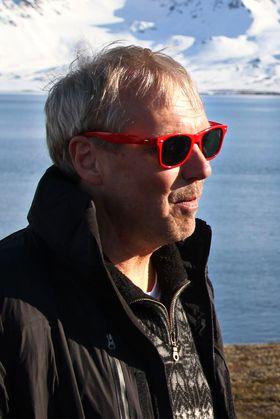 Geir Mathiassen er operatør på Statens Kartverks VLBI-base i Ny-Ålesund. .