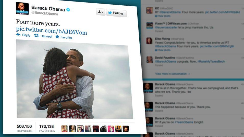 Obama satte Twitter-rekord