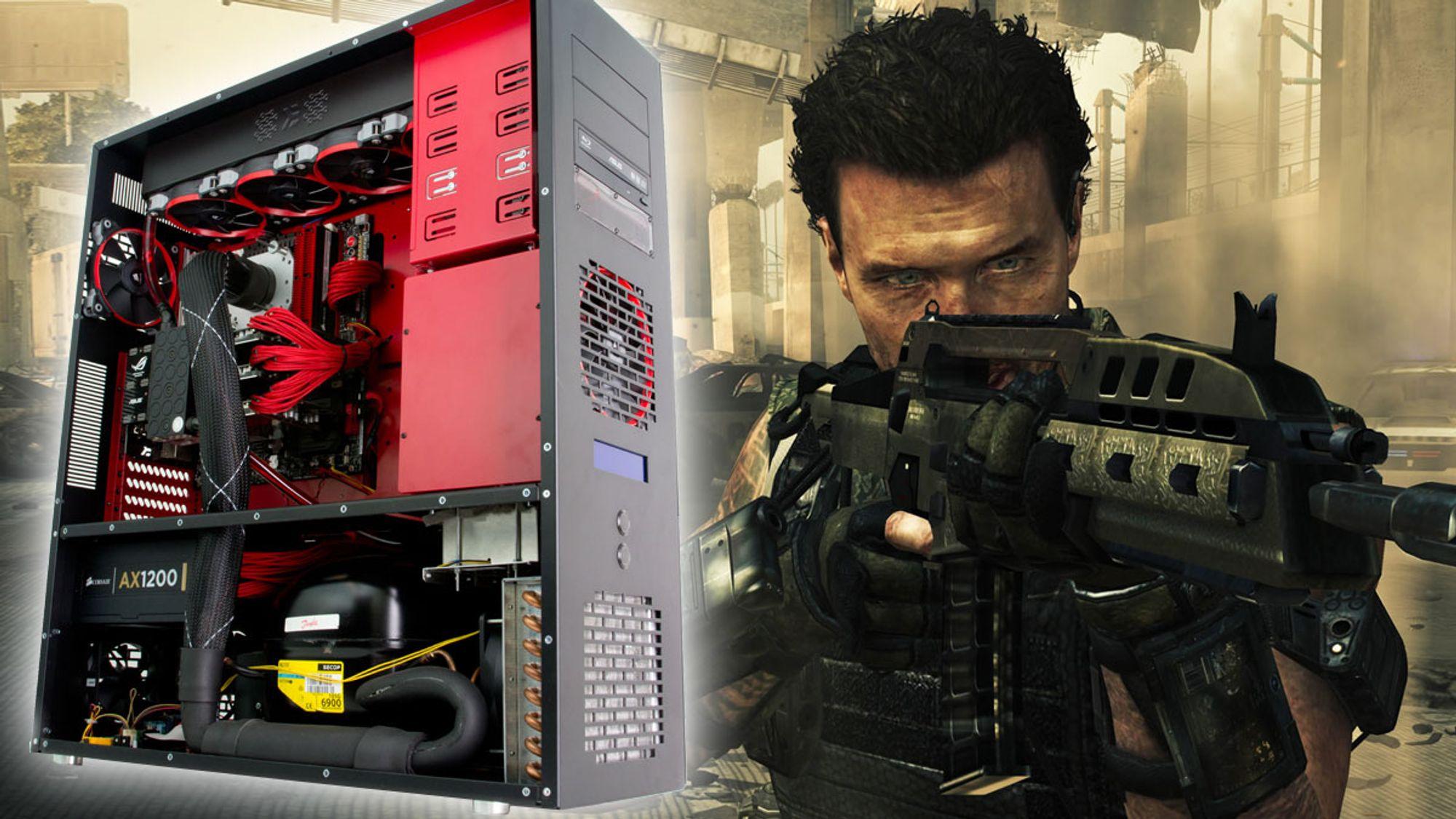 Les Slik utnytter du din nye monster-PC