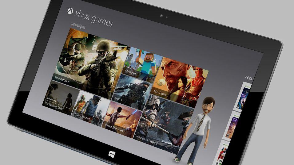 Microsoft jobber med et Xbox Surface-nettbrett, ifølge ryktene.