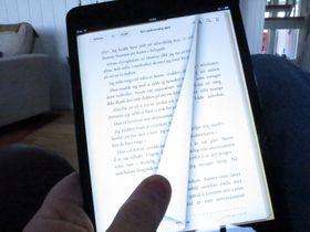 iPad mini er ypperlig for e-bøker.