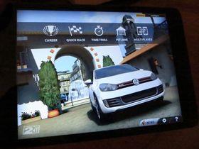 iPad mini har ingen problemer med grafikktunge spill.