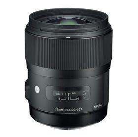 Sigma 35mm f/1.4 DG HSM.