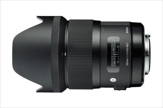 Sigma 35mm f/1.4 DG HSM er svært bra og mye objektiv for pengene.