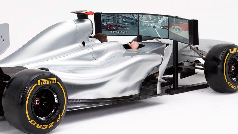 Nå kan du leve ut drømmen som Formel 1-fører.