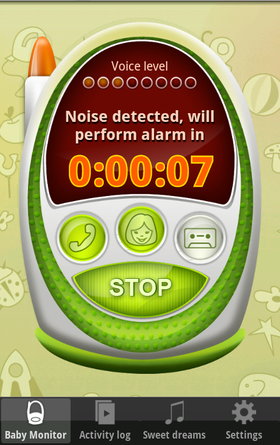 Baby Monitor & Alarm.