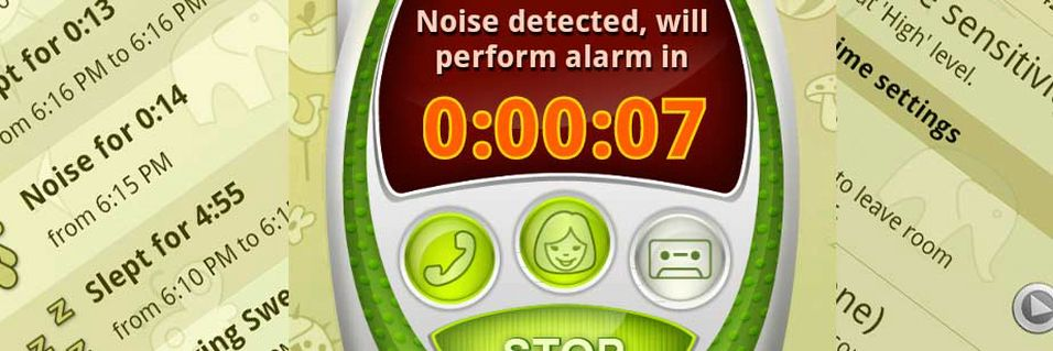 TEST: Baby Monitor & Alarm