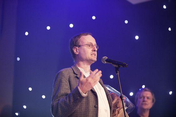 Hedersprisen gikk i år til et selskap og ikke en enkeltperson. Håkon Wium Lie mottok prisen.