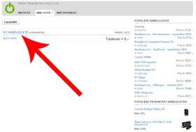 Trykk på «Ny handleliste» for å redigere listen og legge til produkter.