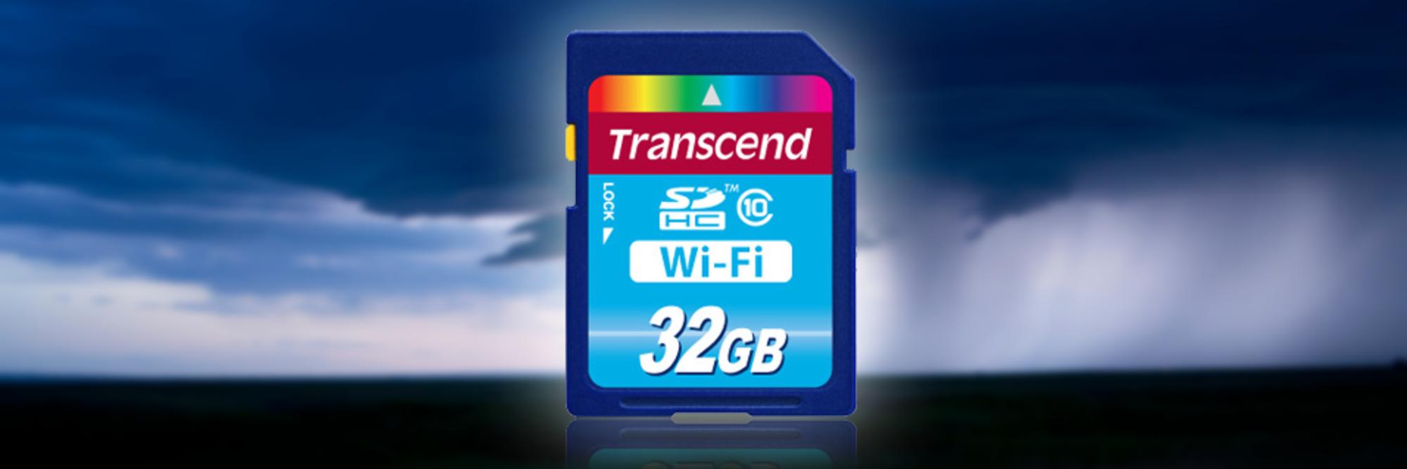 Nye Wi-Fi-kort fra Transcend