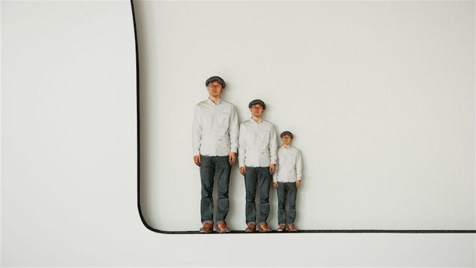 En ny type fotoboks skriver ut 3D-modeller av deg i stedet for å ta vanlige 2D-bilder.