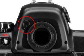 Nikon D3 kan skilte med egen spak.