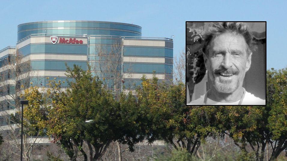 Antiviruskongen John McAfee lanserer «klage-nettside»