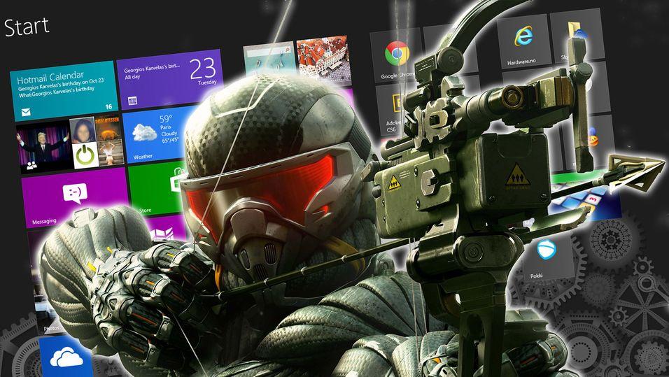 Microsoft vil låse nye spill til Windows 8