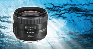 Canon EF 35mm f/2 IS USM Lyssterkt, stabilt og solid