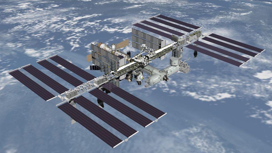 Roboten, som befant seg i Tyskland, ble fjernstyrt fra den internasjonale romstasjonen (ISS).